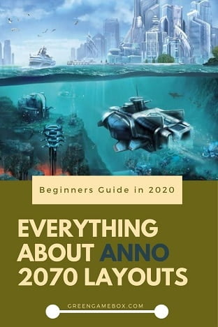 Anno 2070 layouts