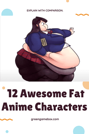 fat anime characters
