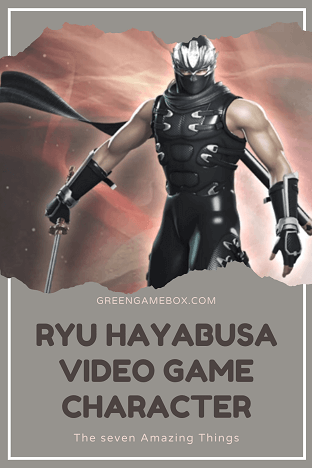 The seven amazing things about Ryu Hayabusa video game character