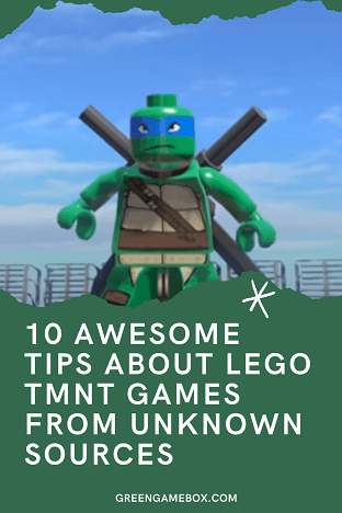 10 Awesome Tips About Lego Tmnt Games From Unknown Sources