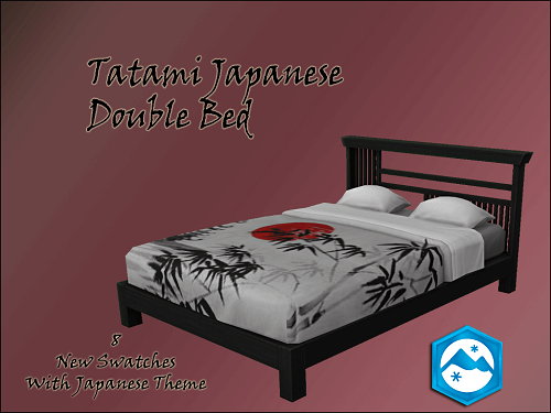 Tatami Japanese Double Bed
